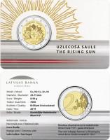2 EURO / The Rising Sun / BU