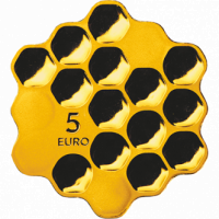 Honey coin