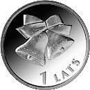 1 lats - Christmas bells