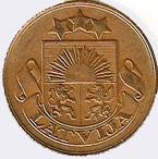 5 santīmi (1922)