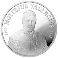 The 200th birth anniversary of Motiejus Valančius (1801-1875)
