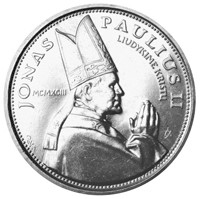 Visit of Pope John Paul II to Lithuania