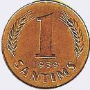 1 santīms (1937–1939)