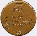 5 centimes (1922)