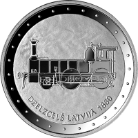 Railway in Latvia