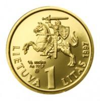 75 лет Банку Литвы и литу