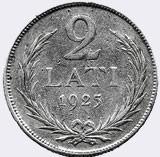 2 лата (1925–1926)