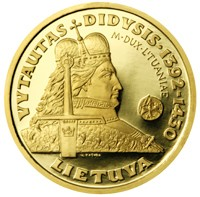 Vytautas the Great, the Grand Duke of Lithuania (from the series \