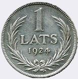1 lats (1924)