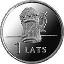 1 lats - Beer mug