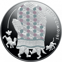 Fairy Tale Coin III. The Old Man\'s Mitten