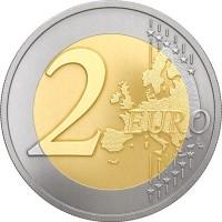 2 EURO COIN / Zemgale
