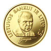 The 75th anniversary of the Bank of Lithuania and the litas