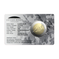 2 ЕВРО / Латвия de iure 100 / BU