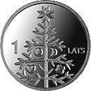 1 lats - Christmas tree