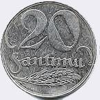 20 santīmi (1922)